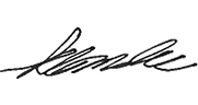 Signature of Kwan Lee Chief Accountant Financial Services Commission of Ontario