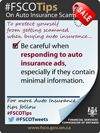 be careful when responding to auto insurance