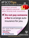 do not pay someone a fee to arrange insurance for you
