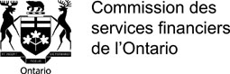 Logo de la Commission des services financiers de l'Ontario